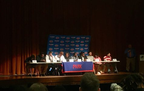 10 Football Players Sign to Play College Ball