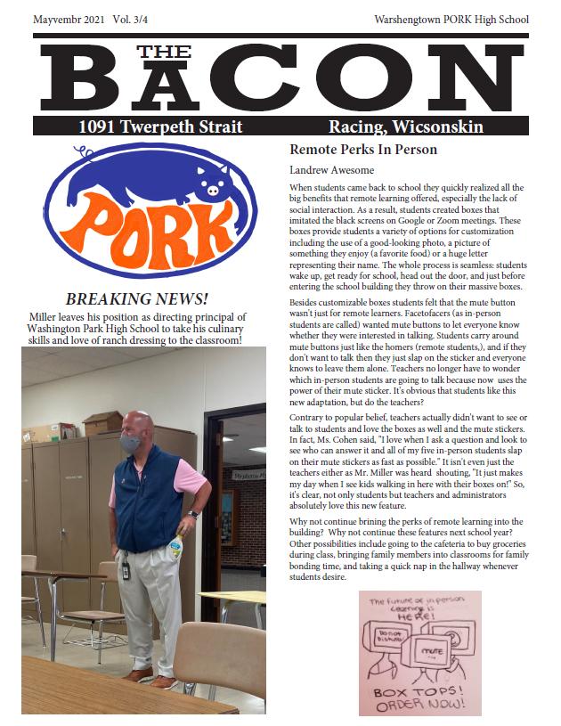 The Bacon (The Beacon's Satirical Edition)